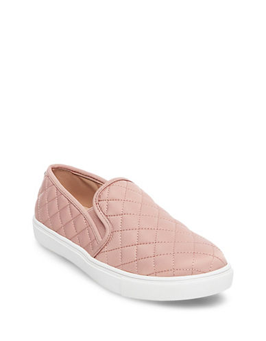 Steve Madden Ecntrcqt Quilted Slip-on Sneakers-BLUSH-9.5