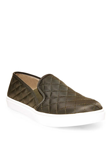 Steve Madden Ecntrcqt Quilted Slip-on Sneakers-GREEN-7