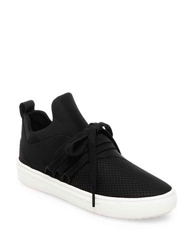 Steve Madden Lancer Sneaker-BLACK-7.5
