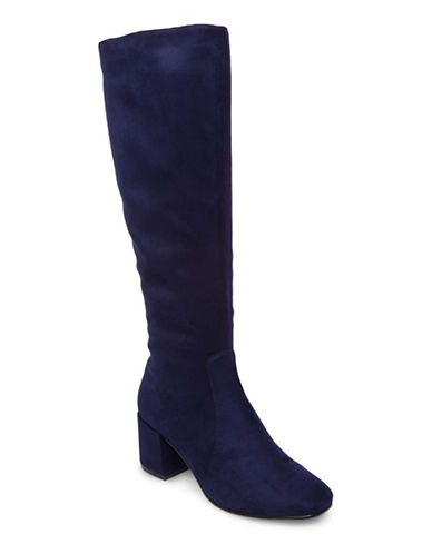 Design Lab Lord & Taylor Mod Knee-High Boots-BLUE-6