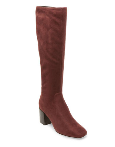 Design Lab Lord & Taylor Mod Knee-High Boots-BROWN-7.5