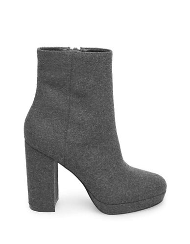 Design Lab Lord & Taylor Chunky Heel Boots-CHARCOAL-7
