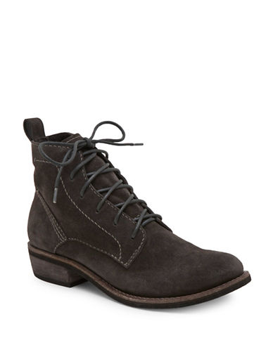 Dolce Vita Seema Lace-Up Ankle Booties-ANTHRACITE-6.5