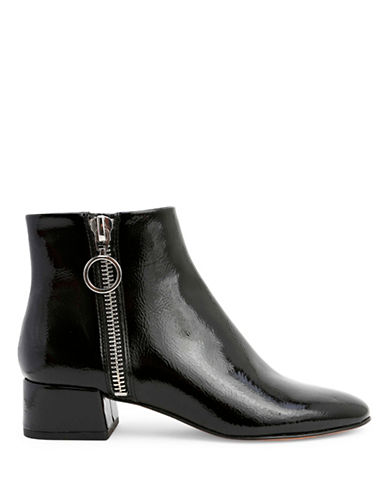 Dolce Vita Jaxx Side Zip Booties-BLACK-9