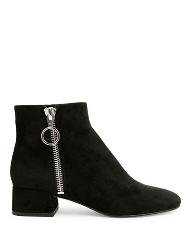 Dolce Vita Jaxx Side Zip Booties-ONYX BLACK-9.5