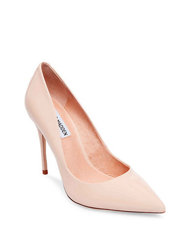 Steve Madden Daisie Patent Leather Pumps-PINK-6