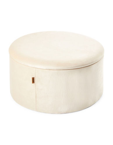 Kvell Boto Short Storage Ottoman-CREAM-One Size