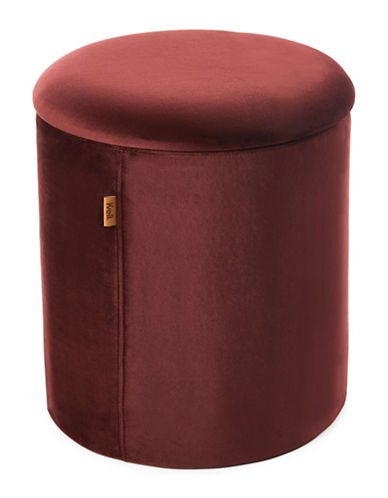 Kvell Boto Tall Storage Ottoman-PLUM-One Size