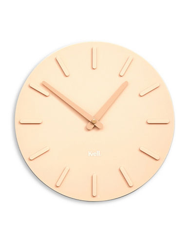 Kvell Pop Lightweight Clock-PINK-One Size