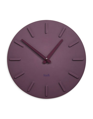 Kvell Pop Lightweight Clock-PLUM-One Size