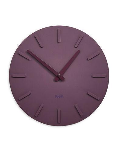 Kvell Pop Lightweight Clock-PLUM-One Size