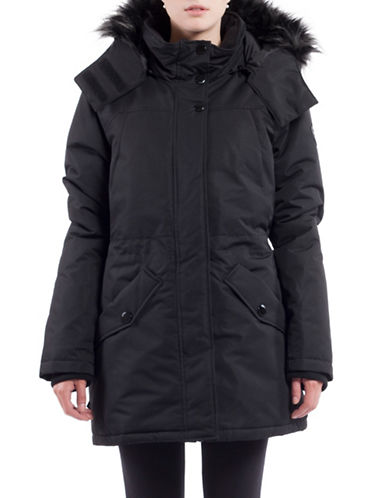 Noize Charlie Faux Fur Insulated Jacket-BLACK-Large 88714908_BLACK_Large
