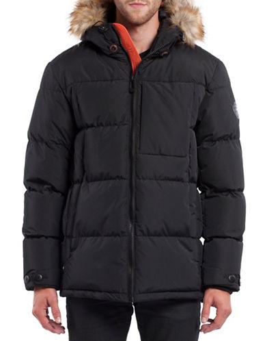 Noize Bryant Faux Fur Trim Jacket-BLACK-Large 88699812_BLACK_Large