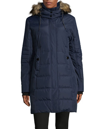 Noize Jenna Long Quilted Jacket-BLUE-Small 89561426_BLUE_Small