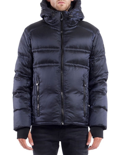 Noize Farber Short Down Jacket-DARK NAVY-X-Large