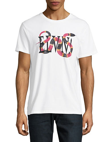 Eleven Paris Graphic Cotton T-Shirt-WHITE-Small 89992833_WHITE_Small