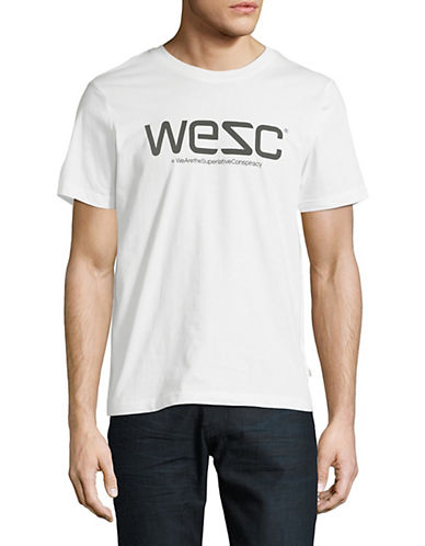 Wesc Graphic Logo Cotton Tee-WHITE-Medium 89970415_WHITE_Medium