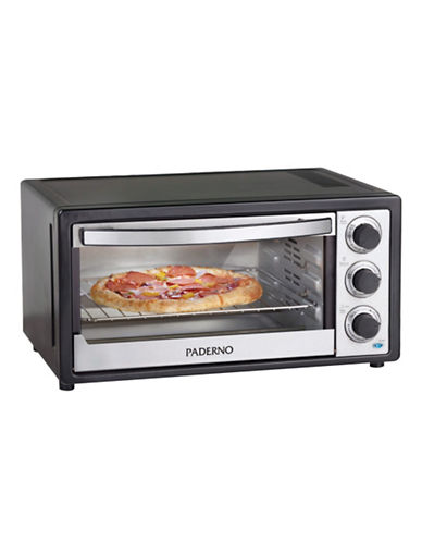Large Countertop Oven Canada : Paderno Six Slice Convection Toaster Oven-BLACK AND METAL-One Size ...