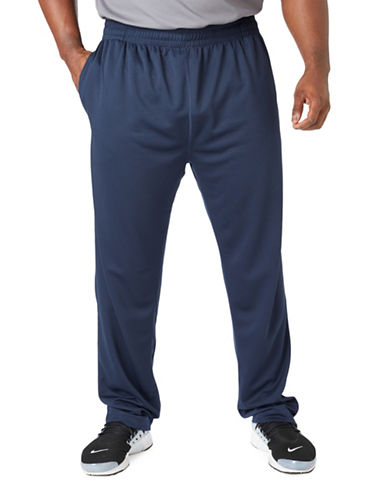 Paul Gray Big and Tall Athleisure Pants-BLUE-2XB