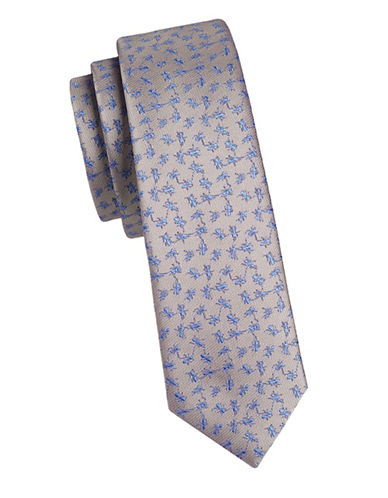 1670 Slim Ant Tie-TAUPE-One Size