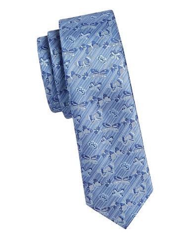 1670 Slim Butterfly Tie-BLUE-One Size
