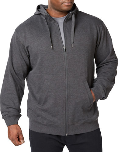 Paul Gray Athleisure Sweat Shirt-GREY-1X Big