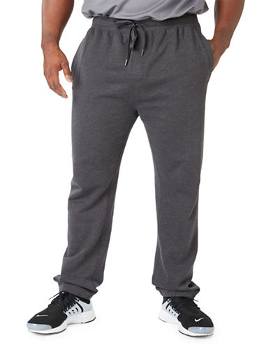 Paul Gray Big and Tall Athleisure Sweatpants-GREY-5XB