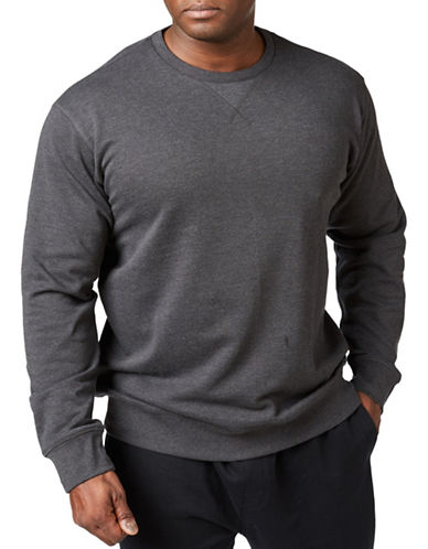 Paul Gray Athleisure Sweatshirt-GREY-5XB