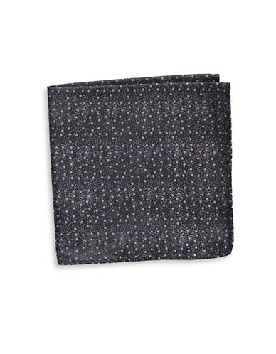 1670 Dot Pocket Square-BLACK-One Size