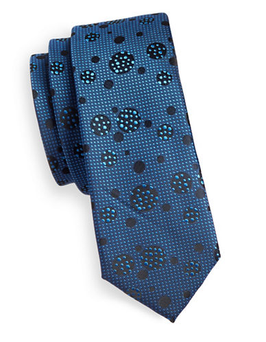 1670 Bubbles Tie-BLUE-One Size