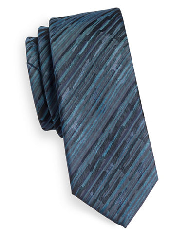 1670 Linear Tie-TEAL-One Size