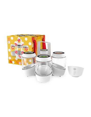 Mortier Pilon Home Canning Set-WHITE-One Size