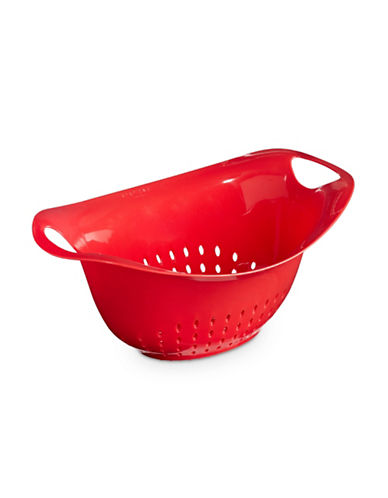 Architec 4.5qt Oval Colander-RED-One Size