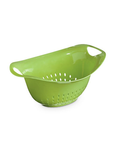 Architec 4.5qt Oval Colander-GREEN-One Size