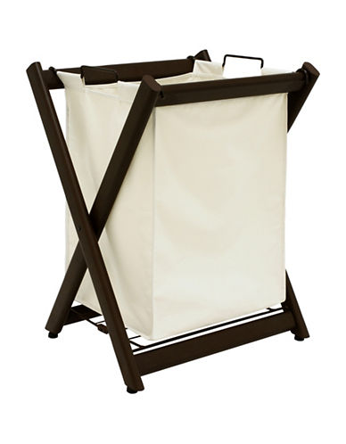 Greenway Home Products Powder Coated Steel Laundry Hamper-CREAM-One Size