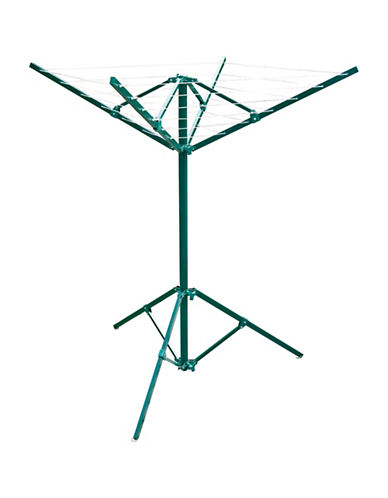 Greenway Home Products Portable Outdoor Rotary Clothesline-GREEN-One Size