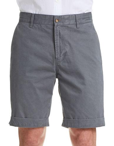 J. Lindeberg Nate Season Cuffed Shorts-GREY-38