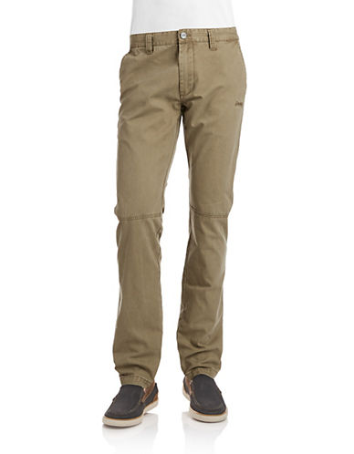 Jeep Man Heavy Trousers-DARK GREEN-50