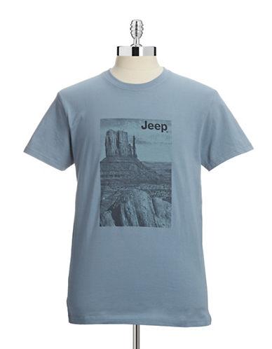 Jeep Desert Graphic T-Shirt-BLUE-X-Large 87920997_BLUE_X-Large