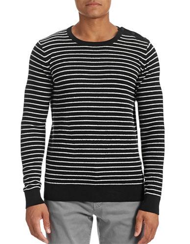 J. Lindeberg Button Shoulder Stripe Sweater 88051727