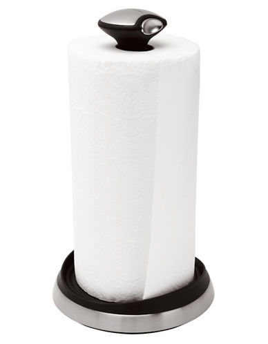 Simplehuman Paper Towel Holder Wall Mount-BLACK-One Size