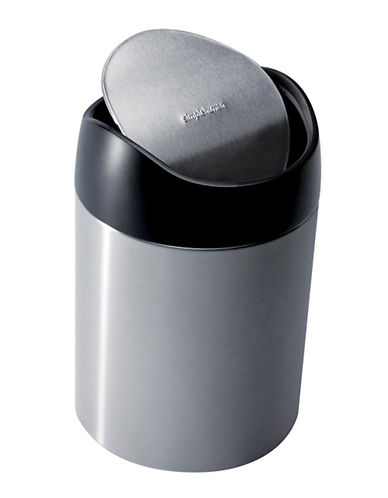 Simplehuman Counter Top Trash Can-SILVER-One Size