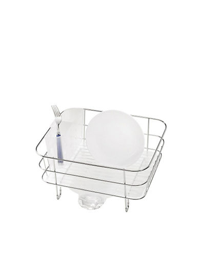 Simplehuman Compact Dishrack-WHITE-One Size