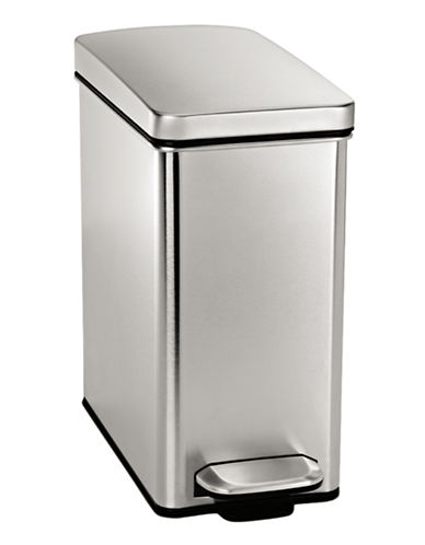 Simplehuman Profile steel step can-STAINLESS STEEL-One Size