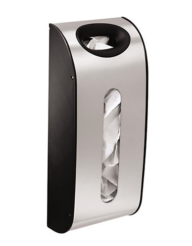 Simplehuman Stainless Steel Bag Holder-SILVER-One Size