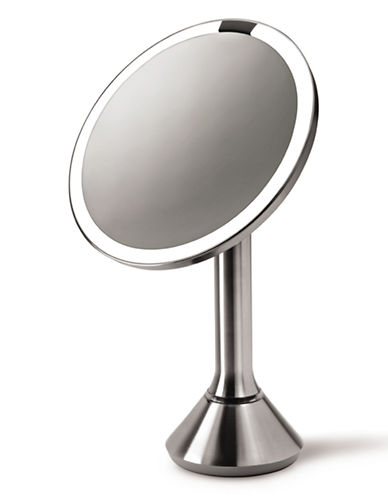 Simplehuman Sensor 8-Inch Vanity Mirror-SILVER-One Size