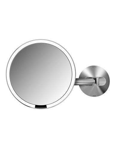 Simplehuman 8X Wall Mount Sensor Makeup Mirror-SILVER-One Size