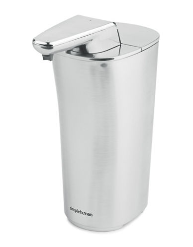 Simplehuman Sensor Pump Soap Dispenser-SILVER-One Size