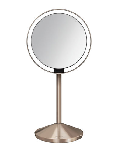 Simplehuman Rose Goldtone Mini Sensor Mirror with Travel Case - 10x Magnification-ROSE GOLD-5 ml