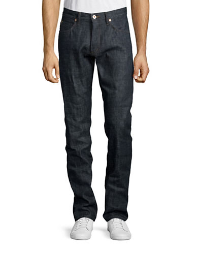Billy Reid Slim-Cut Jeans-DENIM BLUE-34